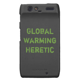 Global Warming Heretic Motorola Droid RAZR Cover