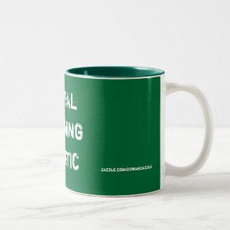 Global, Warming, Heretic, zazzle.com/dswanzazzle Two-Tone Mug