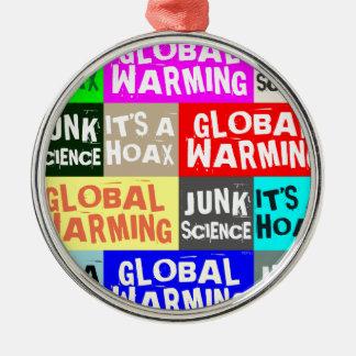Global Warming Hoax Christmas Tree Ornament