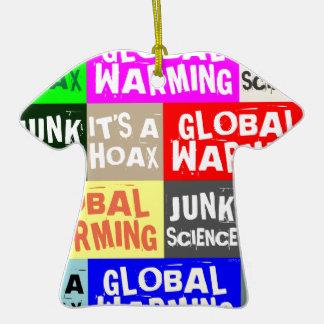 Global Warming Hoax Ornaments