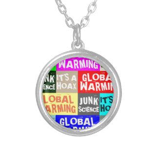 Global Warming Hoax Pendant