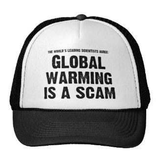 Global Warming is a Scam Cap