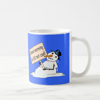 """Global Warming is SO Not Cool"" Mug"