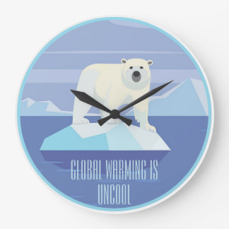 Global Warming Is Uncool: Support the Paris Accord Wallclock