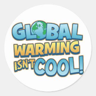 Global Warming Isn't Cool Sticker
