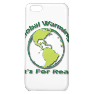 Global Warming Its For Real green Case For iPhone 5C