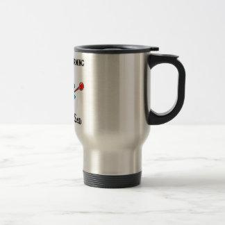global warming makes me sad stainless steel travel mug
