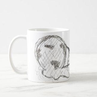 Global Warming Melting Earth Cup Basic White Mug