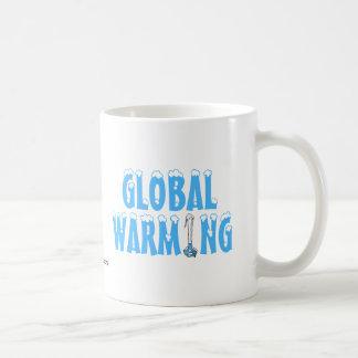Global Warming Basic White Mug