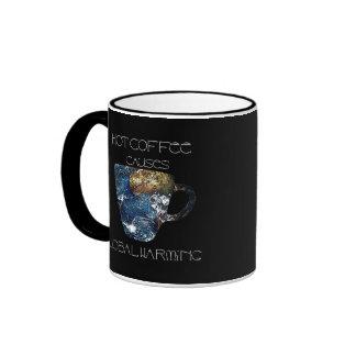 Global Warming Mug by Sinthyia Darkness