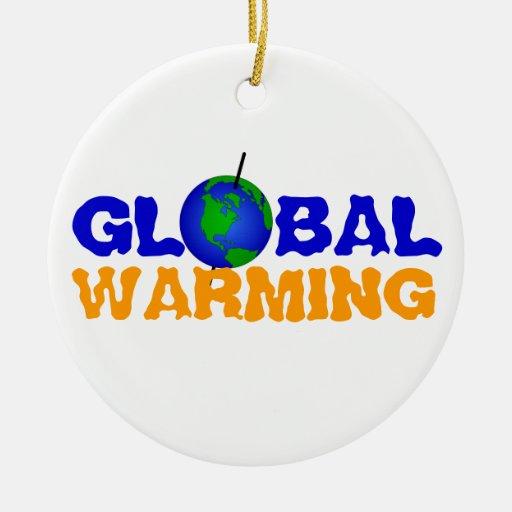 Global Warming Ornament