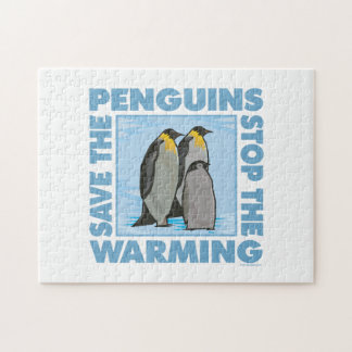 Global Warming, Penguins Jigsaw Puzzle