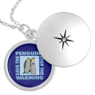 Global Warming Penguins Custom Jewelry