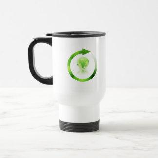 Global Warming Plastic Travel Mug