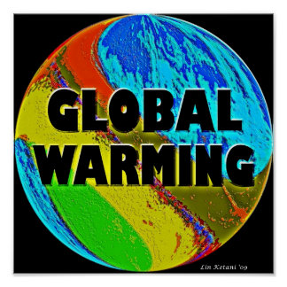 Global Warming Poster Art