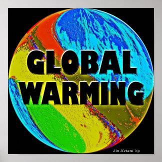 Global Warming Poster Art