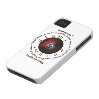 Global Warming - Time Is Running Out iPhone 4 Case-Mate Case