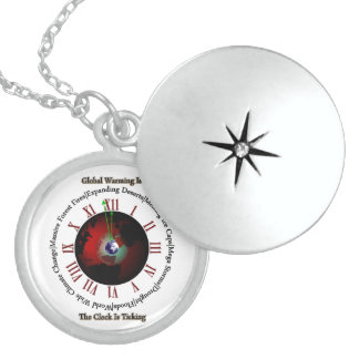 Global Warming - Time Is Running Out Pendants