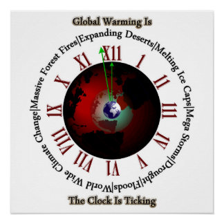 Global Warming - TisRO Perfect Poster
