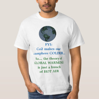 Global Warming Truth vs. Hoax T-Shirt