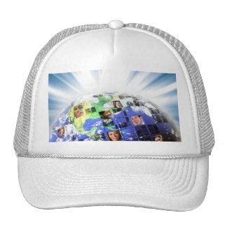 Global Worldwide Network of People Trucker Hat