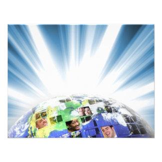 Global Worldwide Network of People Invites