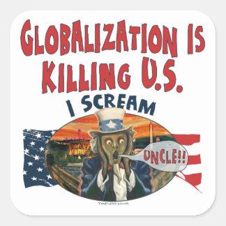 Globalization is Killing U.S. Sticker