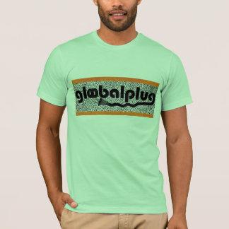 globalplug Lime Green Brazil Tee Black Logo