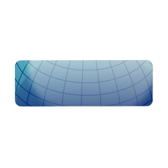 Globe_1_Vector_Clipart Return Address Label