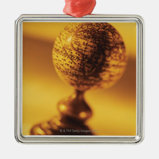 Globe 2 christmas ornament