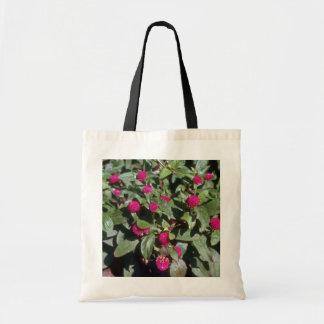 Globe Amaranth (Gomphrena Globosa) flowers Tote Bag