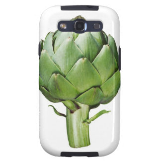 Globe Artichoke on White Background Cut Out Samsung Galaxy S3 Covers