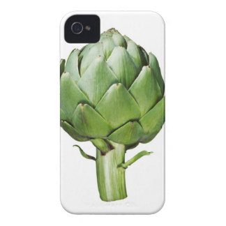 Globe Artichoke on White Background Cut Out iPhone 4 Case
