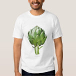 Globe Artichoke on White Background Cut Out Shirt