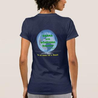Globe, BEERS w/oBORDERSBrewery, Tallahassee, FL... Tshirt