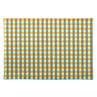 Globe Check Classic placemat
