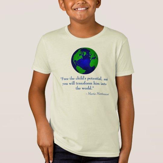 Globe Final Design Kids T-Shirt