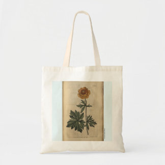 Globe Flower Tote Bag