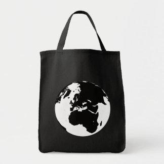 Globe Grocery Tote Bag