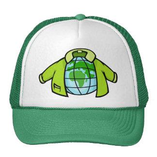 Globe Jacket Hats