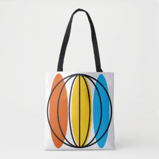Globe Large all over tote
