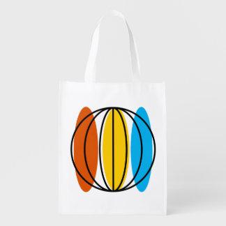 Globe Large reusable bag