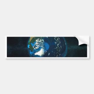 Globe LowPoly Arctic Bumper Sticker