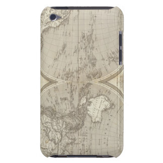 Globe map barely there iPod cover