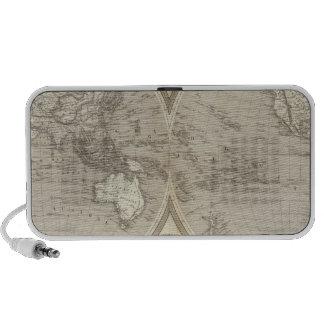 Globe map speaker