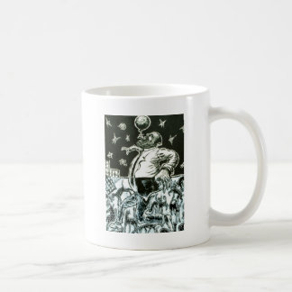 Globe Basic White Mug
