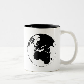 Globe Two-Tone Mug