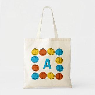 Globe Multi monogram tote bag