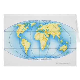 Globe of the World Card
