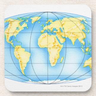Globe of the World Coaster